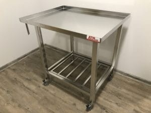 Cheesemaking table 90 x 70 cm