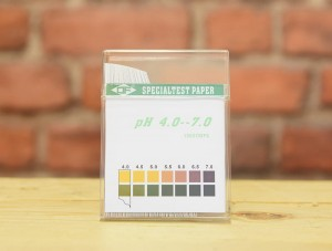 Litmus strips for measuring pH (100 pieces)