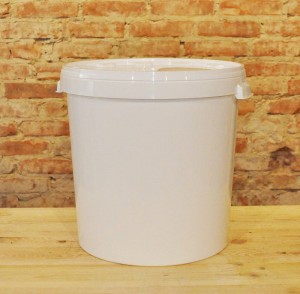 Bucket/container for cheese 30 L