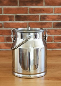 Stainless steel container / jug / pot 10 L