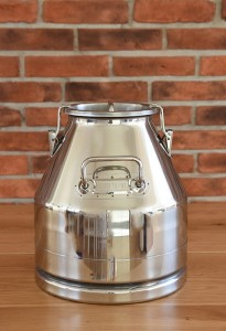 Stainless steel container / jug / pot 20 L