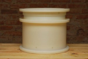 Cylindric mould with rounded corners 8 kg